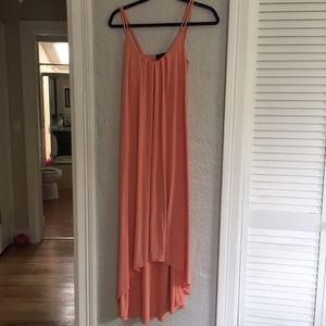 Cynthia Rowley coral high low dress. COMFY