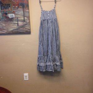 Ralph Lauren Other - Ralph Lauren gingham girls maxi dress
