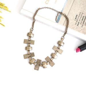 Jewelmint Gold Statement Necklace