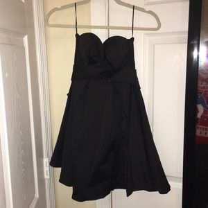 Nasty gal mesh sides dress