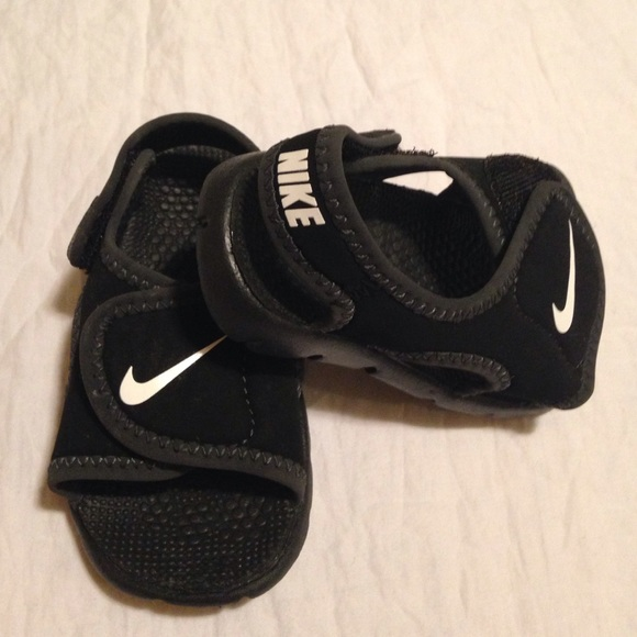 d9b53b20ec3 ... Baby boy Nike sandals  Child kids shoes child shoes 13.0-16.0cm pool  sea bathing Velcro 903634 ...