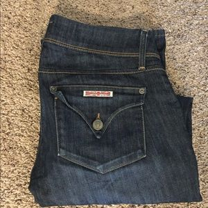 Hudson denim Jean! Collin skinny! 26