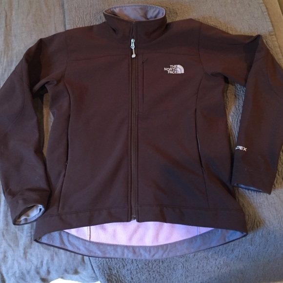 4288cacfc Women's north face apex chocolate brown jacket