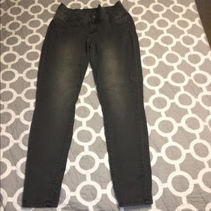 1st kiss Denim - Skinny grey jeans