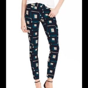 Banana Republic Sloan-fit Geo Print Ankle Pant