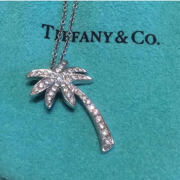 bc37af744 Tiffany & Co. Jewelry | Tiffany Co Palm Tree Pendant | Poshmark