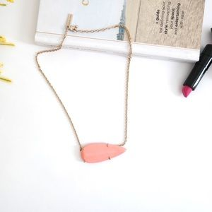 Kendra Scott Coral Necklace