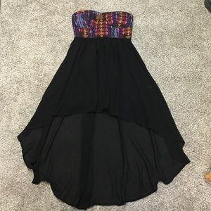 Forever 21 Dresses & Skirts - Forever 21 strapless Aztec high low dress