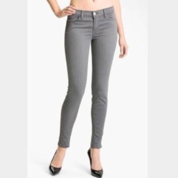 91 off j brand denim sale j brand gray gotham skinny ankle jeans from courtney 39 s closet. Black Bedroom Furniture Sets. Home Design Ideas