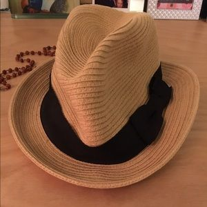 Accessories - ~Straw fedora style hat~