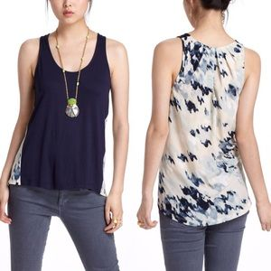 Anthropologie Aerial Terra Top tank by Deletta