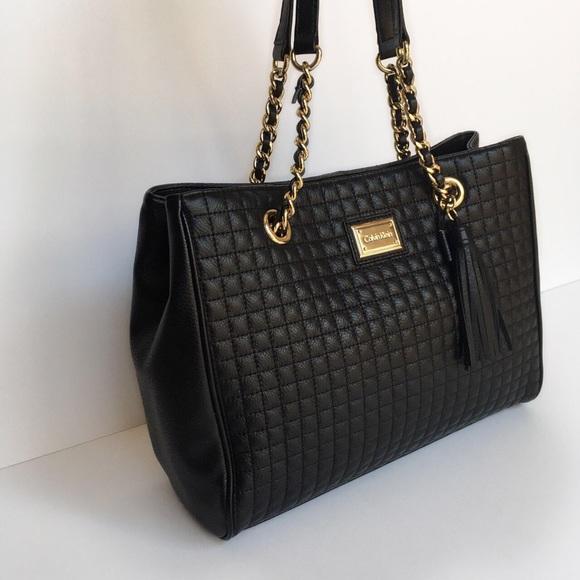 55% off Calvin Klein Handbags - Calvin Klein Hastings Quilted ... : calvin klein quilted purse - Adamdwight.com