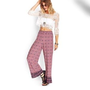 Forever 21 Pants - Forever21 Floral Abstract Palazzo Pants