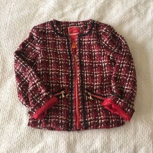 Mayoral Other - Mayoral red pattern jacket