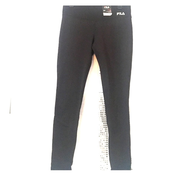 151214f29c40f Fila Pants | Sport Fleece Lined Leggings M Brand New | Poshmark