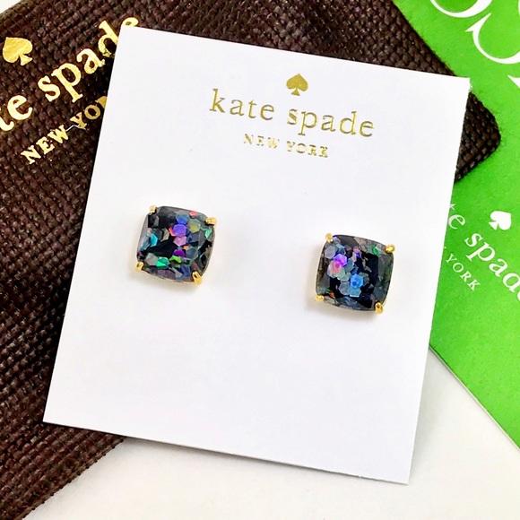 0f8d1c660 kate spade Jewelry | Black Multi Mini Square Studs Earrings | Poshmark