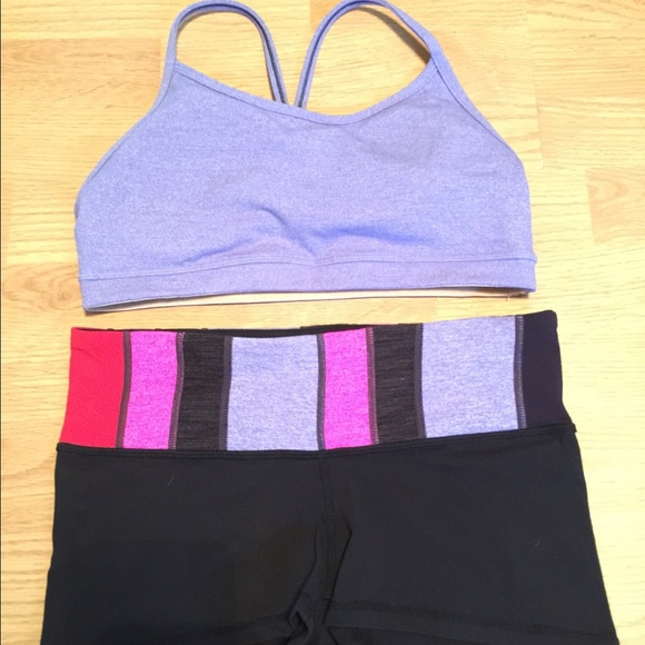 4d27732388 lululemon athletica Other - Lululemon shorts and matching sports bra top