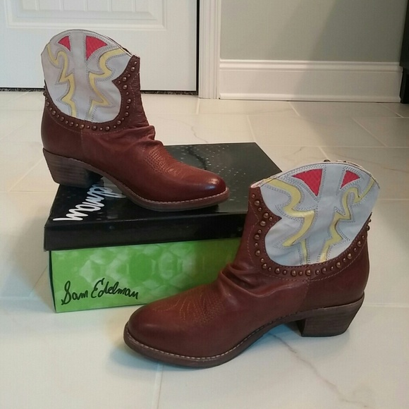 f7e378240072f Sam Edelman Leather Shane Boots. M 57c57b234e8d1730f8000401