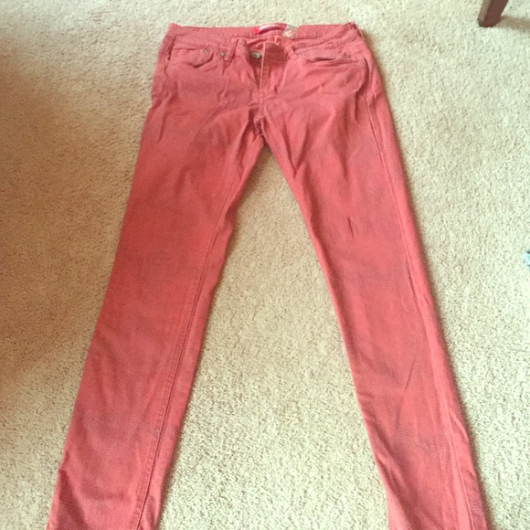 60% off UNIONBAY Denim - Burnt Red with Black dot Jeans from ...