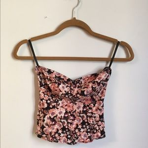 UO Floral Tube Top