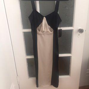 Vera Wang Black/White NWT Dress