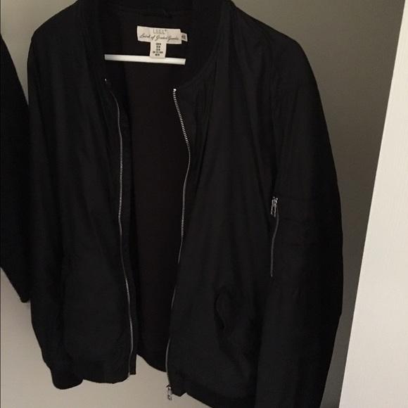 82848fab9 H&M Bomber Jacket Black