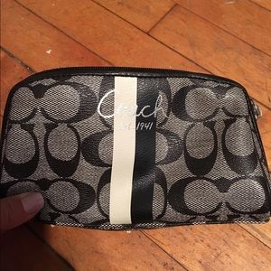 Handbags - Coach small sized makeup bag