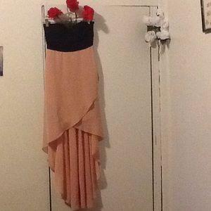 HIGH LOW NWOT DRESS FITS LIKE PETITE MEDIUM