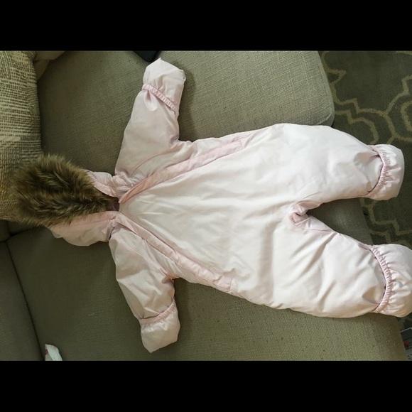 9de356e2a Lands' End Jackets & Coats | Lands End Infant Down Snowsuit | Poshmark