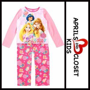 AME Sleepwear Other - DISNEY PRINCESS FLEECE Costume PAJAMAS SET Girls