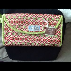 Baby Jake's On-the-Go Diaper Changing Clutch NEW