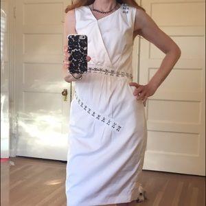 Thakoon Dresses & Skirts - Thakoon Cotton Dress with hook eye detail