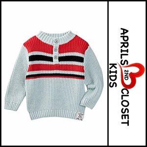 Striped Sweater Knit Jumper