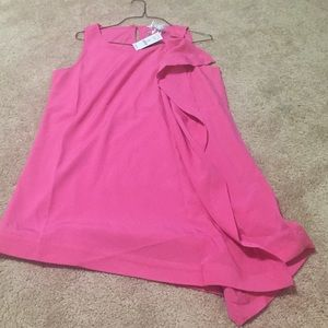 White House Black Market Tops - Pink tunic