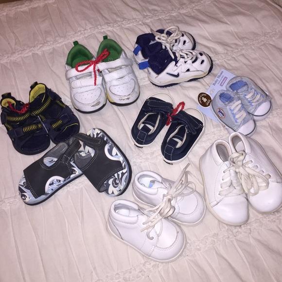 Baby boy shoe bundle Nike stride rite circo gap