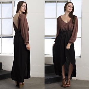 April Spirit Dresses & Skirts - Chic Ombré High-Low Dress