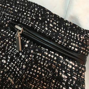 H&M Skirts - Grey/black/white tweed mini skirt