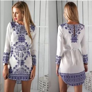 Willow Pattern Dress