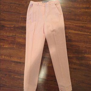 Asos pink linen pants