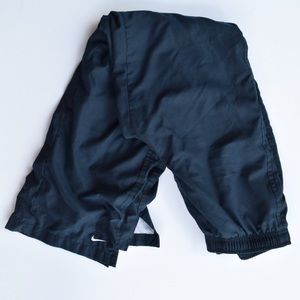 Used, N I K E     Navy Lined Track Pants for sale