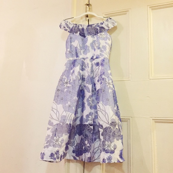 43edece4ef1 French Connection Dresses & Skirts - French Connection Women's Water Garden  Sheer Dress