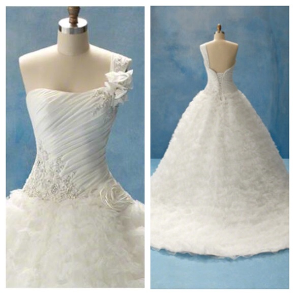 64 off alfred angelo dresses skirts alfred angelo for Sleeping beauty wedding dress