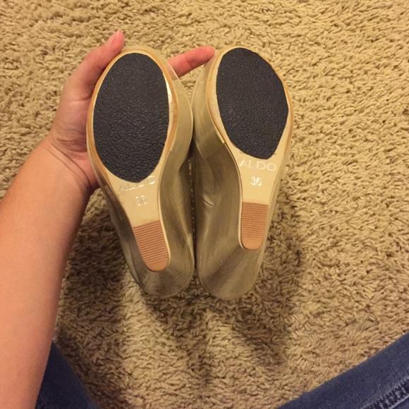 Aldo Shoes - Aldo Patent Wedge Heels