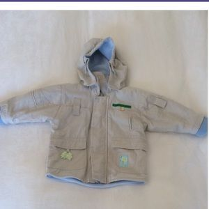 Infant fall jacket for boys