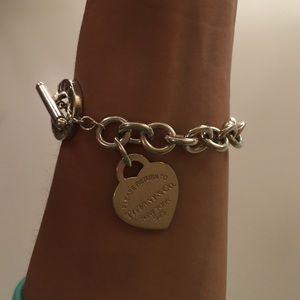 9ea01b58b Tiffany & Co. Jewelry   Authentic Tiffany Co Heart Tag Toggle ...