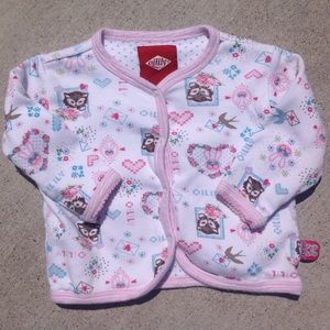 Oilily Other - Oilily Kitty & Bunny Top - 3-6 Months