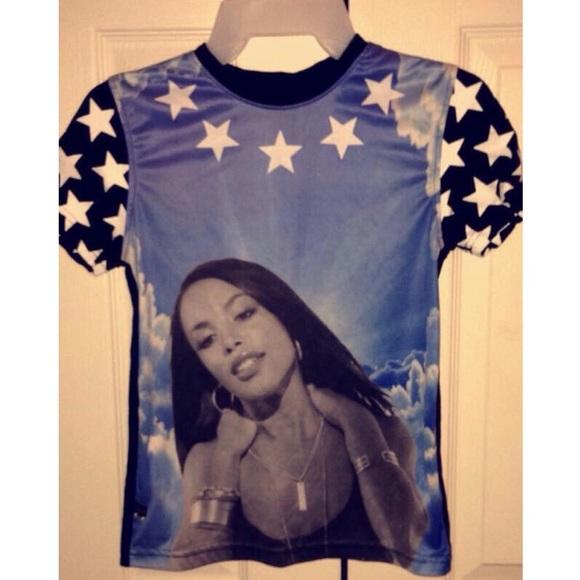 8ece1d74b148c R.i.p Aaliyah shirt.👼. M 57c3986c56b2d6d8d10176ae