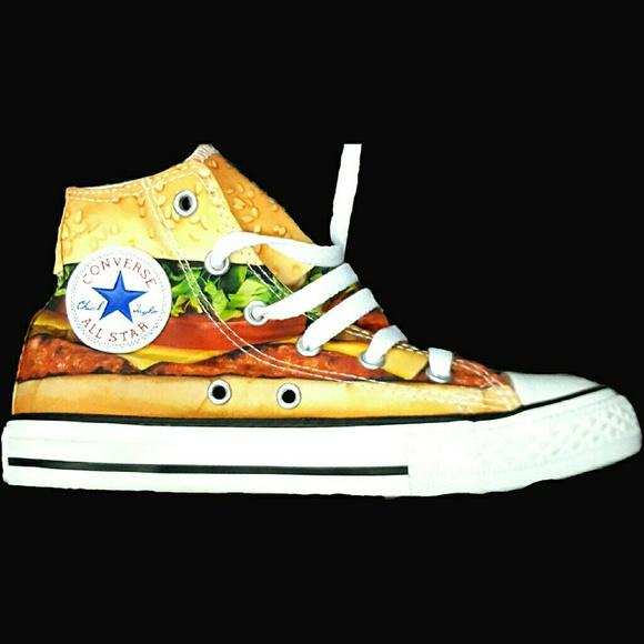 Converse Chuck Taylor All Star Cheeseburger Hamburger