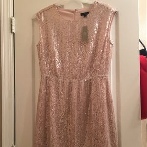 J. Crew Dresses & Skirts - SALE Rose Gold Sequin J Crew Dress