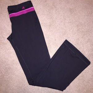 Adidas Workout/Yoga Pants Medium